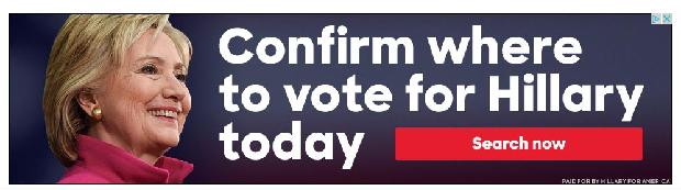 blog hillary voting ad