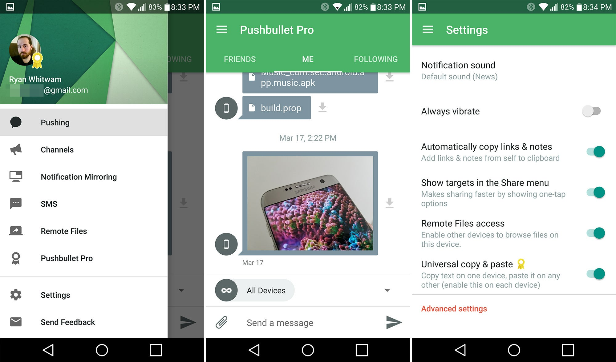 Electronic Clipboard Android Phone the best android clipboard apps pushbullet