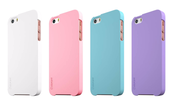 colorant iphone se cases