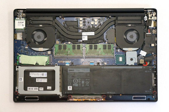 dell xps 15 inside