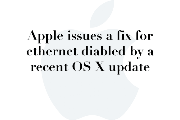 ethernet osx fix