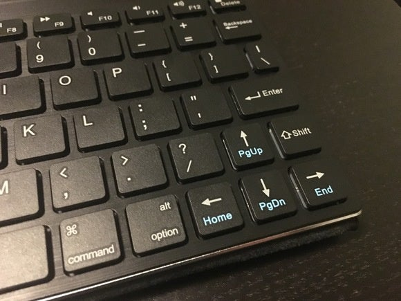 fellowes bluetooth keyboard shift