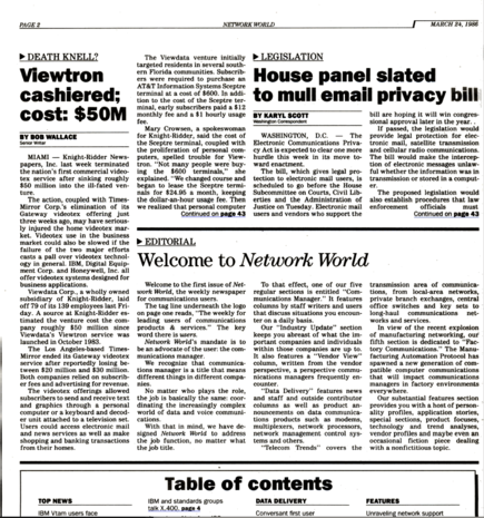 Network World turns 30