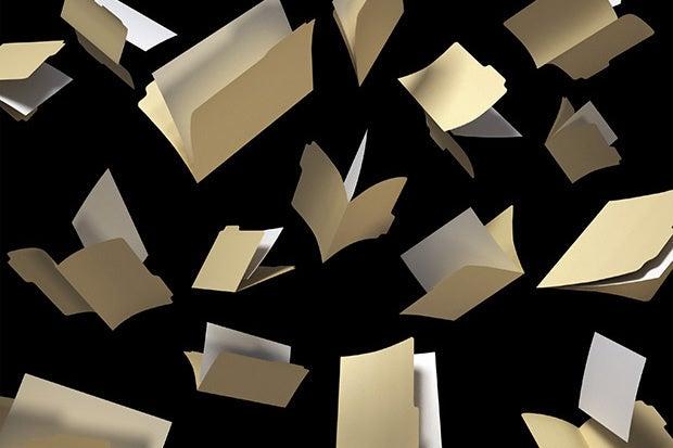 flying folders