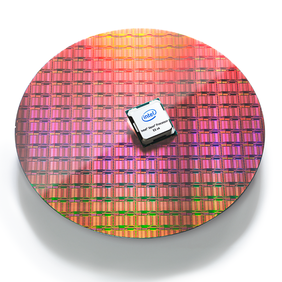 Intel's Xeon E5 v4 chips have up to 22 cores.