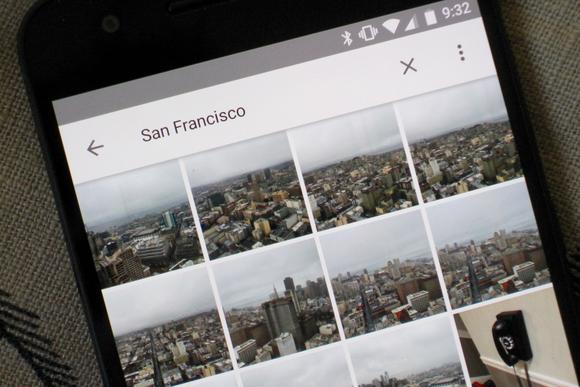 google photos travel