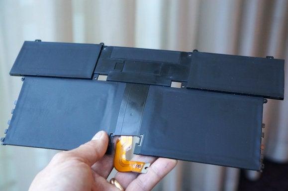 hp spectre 13 3 battery