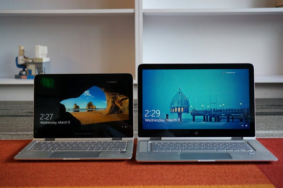 hp spectre x360 15 vs 13 floor