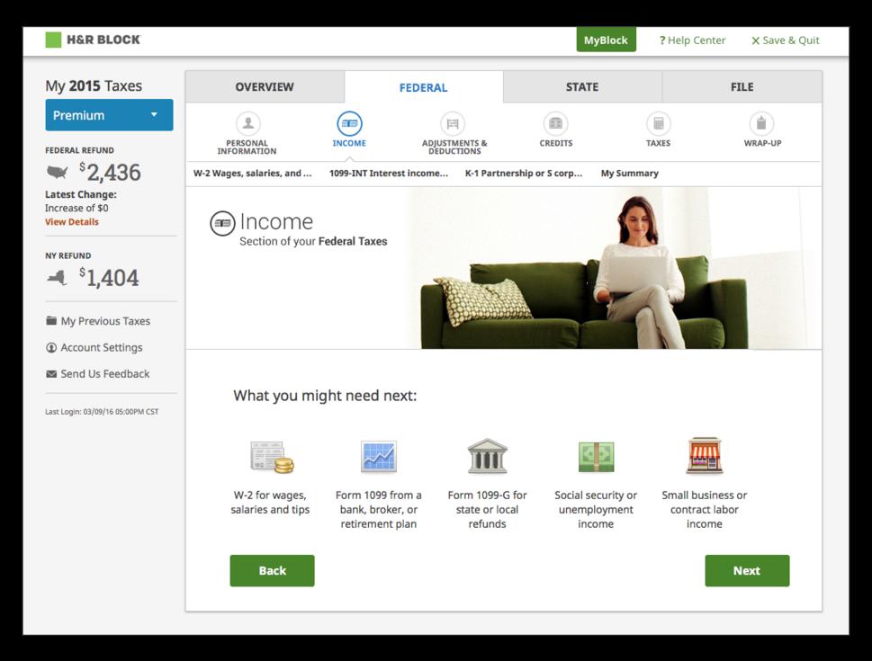 online tax software