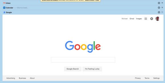 integrated inbox for gmail and google apps