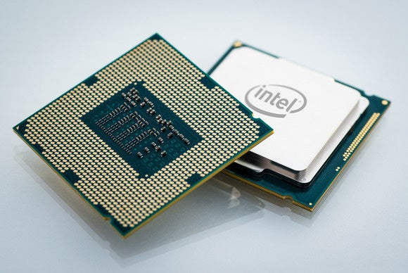 An Intel chip.