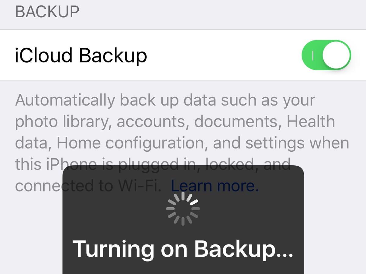 How to switch iOS backup methods | Macworld