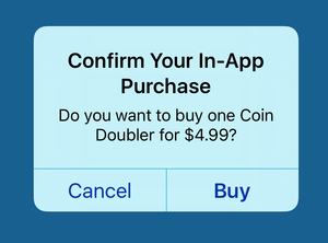 ios in app purchase screen