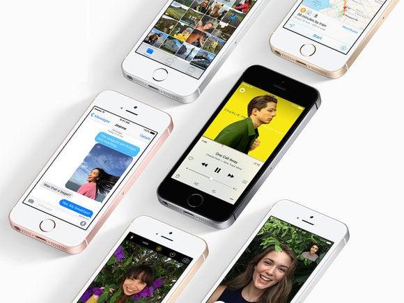 iphone se apple stock