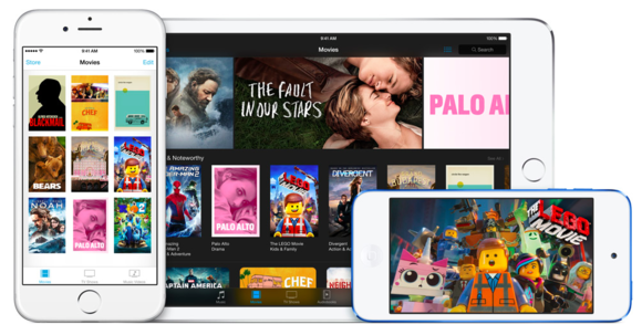 itunes movies ios