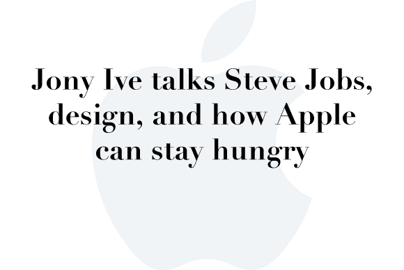 jony ive interview