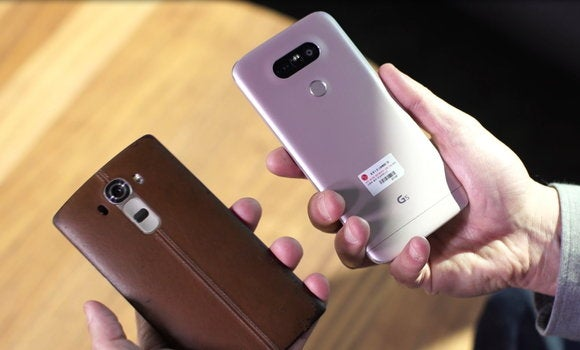 lg g5 and g4