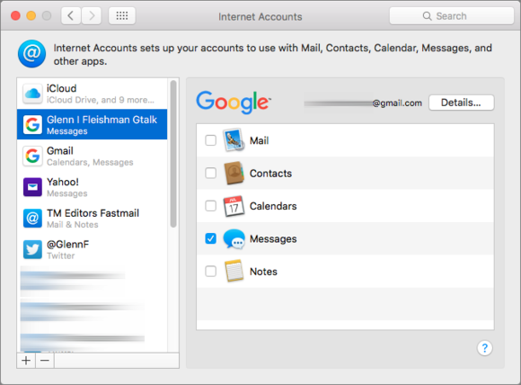 mac911 osx mail contact sync