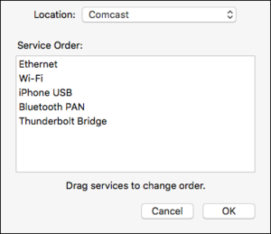 mac911 reorder network interfaces osx