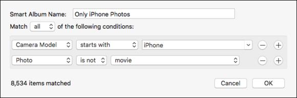 mac911 smart folder only iphone