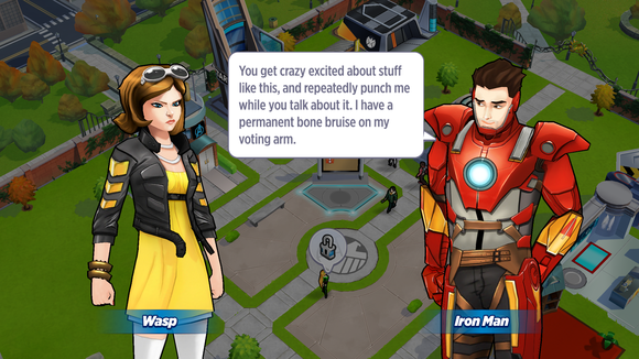 marvel aa dialogue