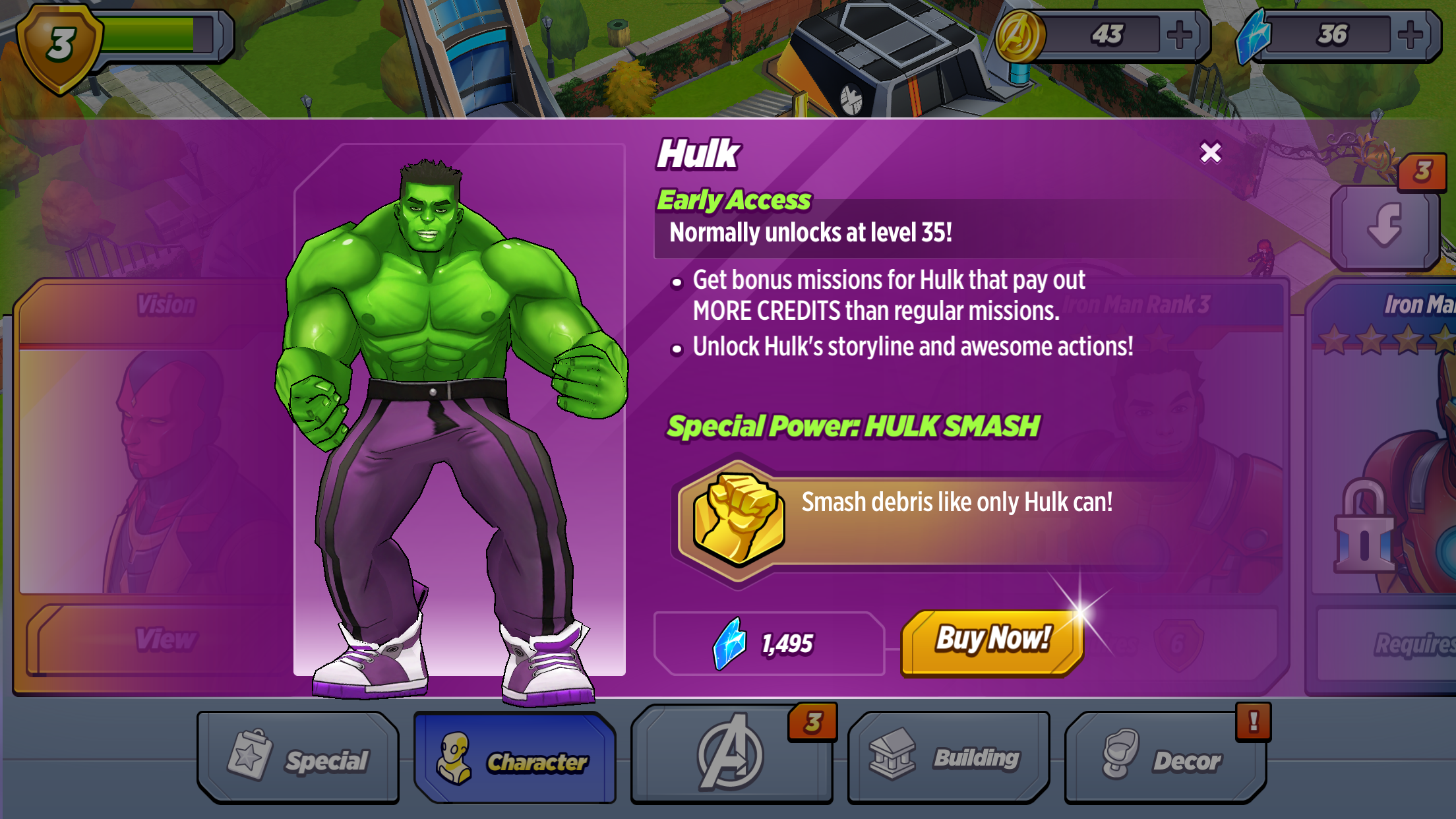 avengers academy all characters unlocked
