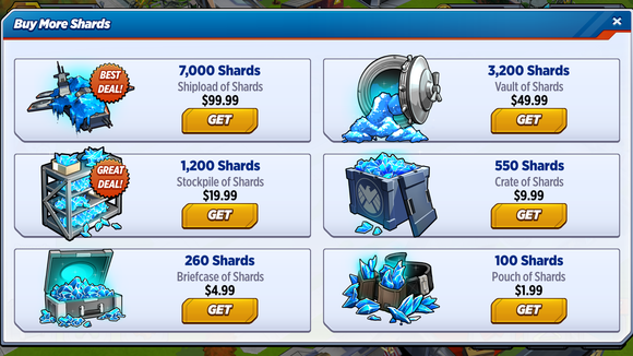 marvel aa shards
