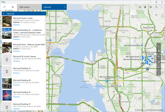 microsoft maps new look