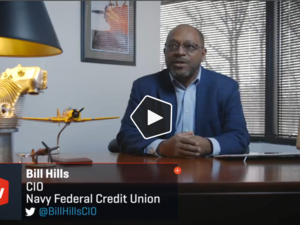 Video profile: On the go with Navy Federal CIO Bill Hills