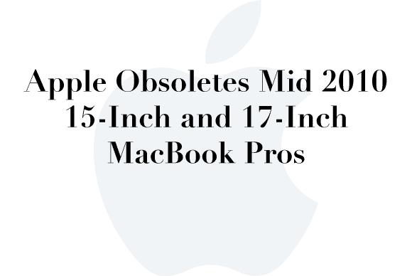 obsolete 2010 macbookpro
