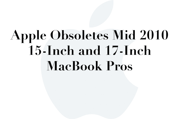 obsolete 2010 macbookpro