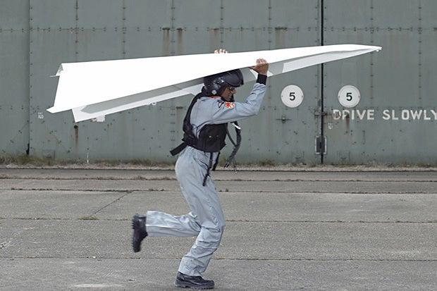 paper airplane development
