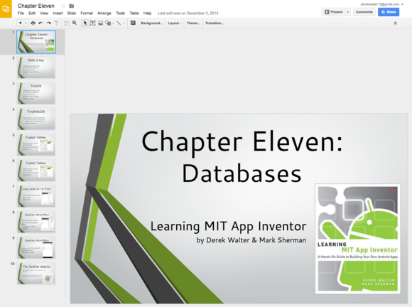 powerpoint to slides