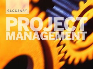 project management pm glossary