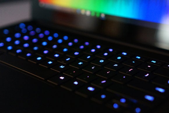 Razer Blade Stealth Ultrabook Keyboard View
