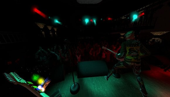 rock band vr