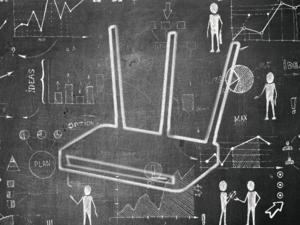 router chalkboard