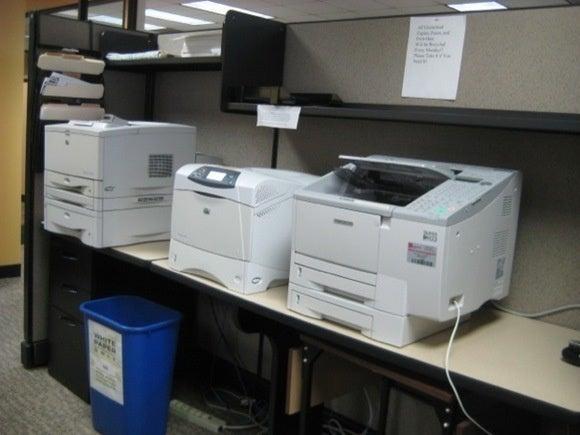 row of printers 606 11352305