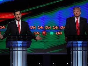 Rubio-Trump at debate