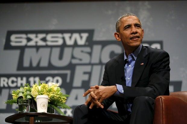 President Obama at SXSW