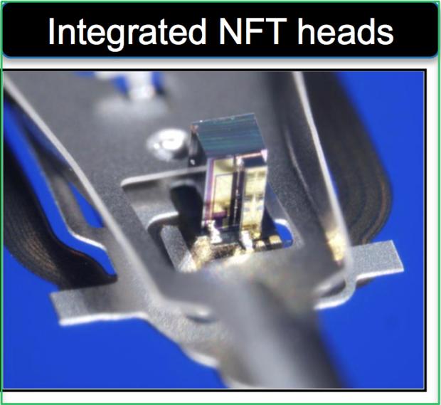 Near field transducer HAMR