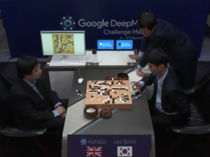 AlphaGo first game in Seoul