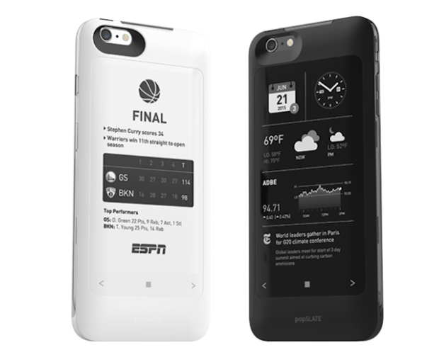 Popslate Iphone