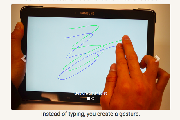 Squiggly lines: The future of smartphone security?