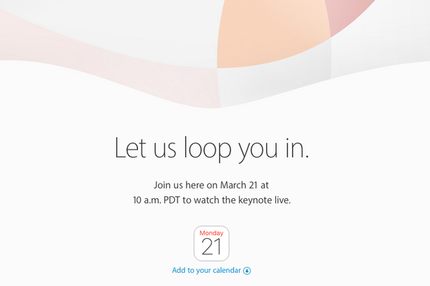 Here come new iPhone, iPad: Apple to loop you in at live-streamed March 21 event