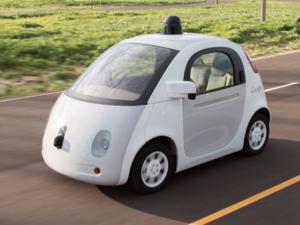 Google autonomous car pod car self-driving