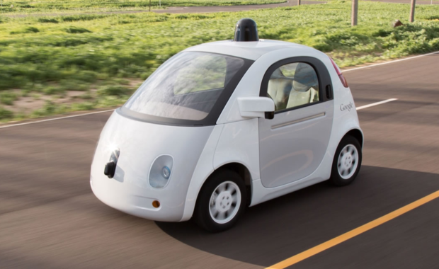 Google autonomous car pod car self-driving