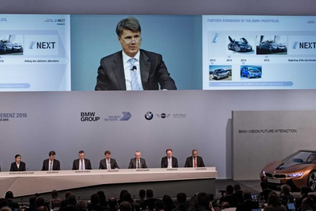 BMW autonomous cars electric