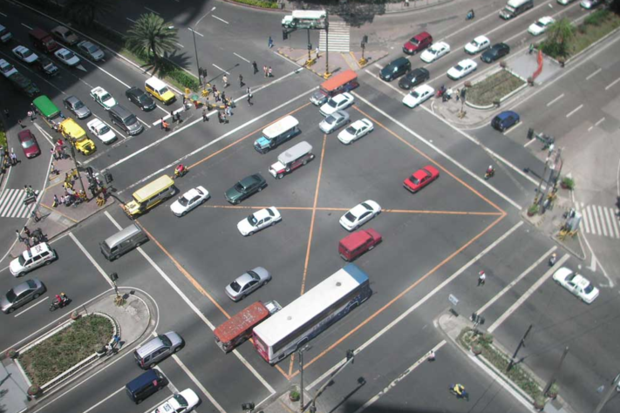 Roadway intersection