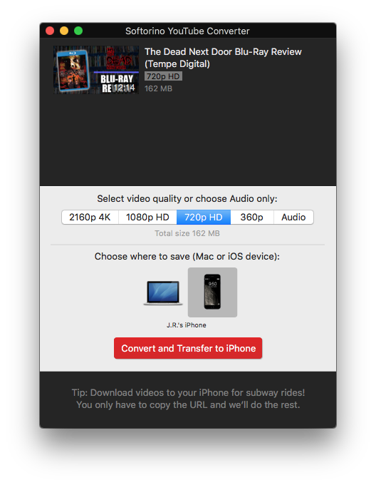 download youtube 4k iphone